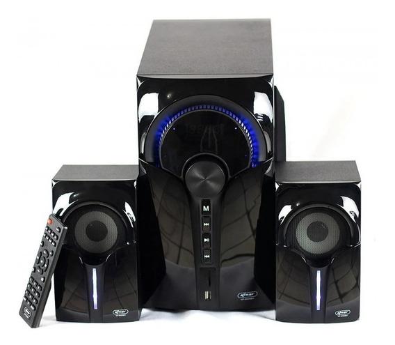 Caixa De Som Micro System Subwoofer Potente Bluetooth Rádio