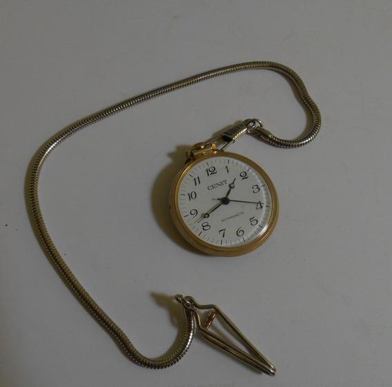 Reloj De Bolsillo Marca Cenit De Cuerda
