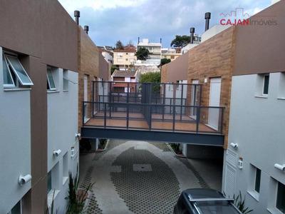 Casa Nova Em Condomínio Com 3 Dormitórios E 2 Vagas No Bairro Chácara Das Pedras - Ca0313