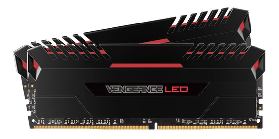 Memória Ddr4 16gb Corsair Vengeance Gamer Led 3000 Mhz