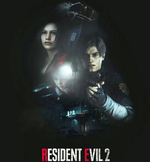 Resident Evil 2 Remake Secundária Digital