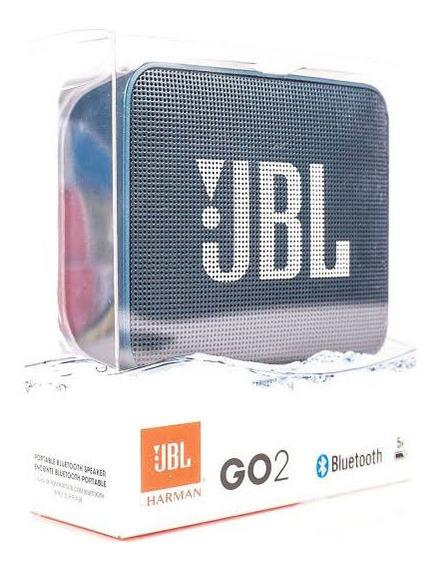 Caixa De Som Bluetooth Portátil Jbl Go 2 By Harman Original