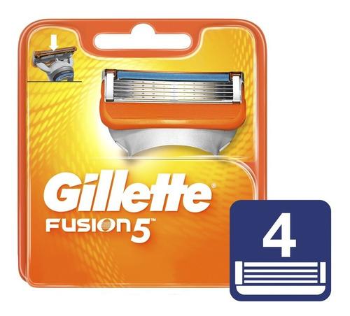 Repuesto Gillette Fusion 5 X 4und