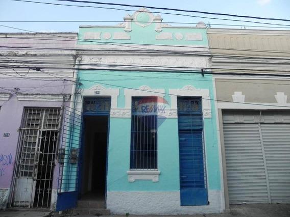 Casa Com 4 Dormitórios À Venda, 93 M² Por R$ 190.000 - Boa Vista - Recife/pe - Ca0136