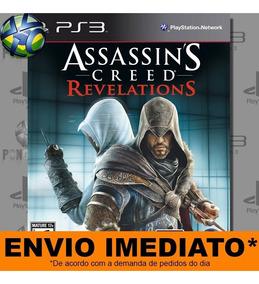 Jogo Ps3 Assassins Creed Revelations Psn Play3 Mídia Digital