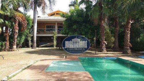 Rancho Com 4 Dormitórios À Venda, 370 M² Por R$ 1.500.000,00 - Chácaras Paraíso - Araçatuba/sp - Ra0042