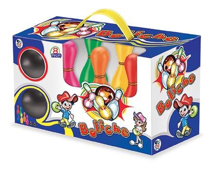 Imagem 1 de 2 de Brinquedo Educativo Boliche De Brinquedo Pica Pau