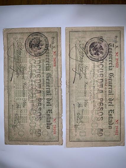 Billetes General Francisco Villa, Sabana De Villa De 1913