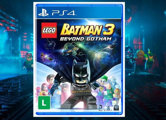 Lego Batman 3 Beyond Gotham - Ps4 1 Mídia Digital Promoção