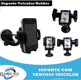 Suporte Veicular Com Ventosa Universal Para Celulares Smartp