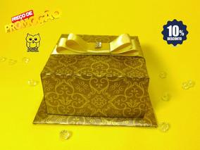 Kit 20 Caixas Luva Metalizada Arabesco
