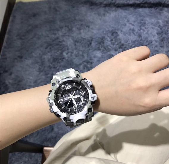 Relógio Casio G Shock - Relógio Masculino Camuflado