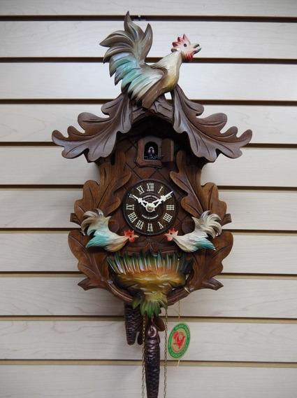Reloj Cucú Alemán Hubert Herr 127 V ¡nuevo!