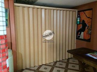 Puertas Plegables Pvc Con Llavin Con Llave. Instalamos