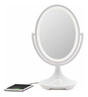 Ihome Beauty Espejo De Tocador Todo En Uno, 5.9in De Dob