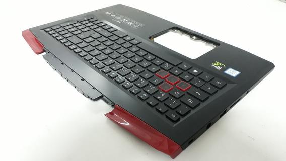 Carcaça Face C Notebook Acer Aspire Vx15 Vx5-591g + Teclado
