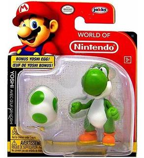 Mundo De Nintendo Yoshi Y Bonus Yoshi Huevo Figura De Acción