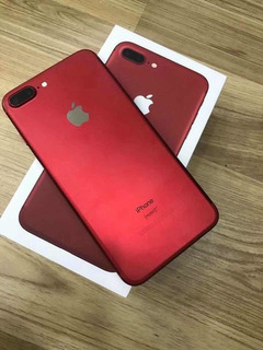 iPhone 7 Plus 256 Gb Red Edition 10/10 Como Nuevo