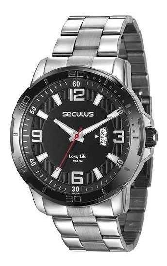 Relógio Seculus Masculino 28912gpsvca2