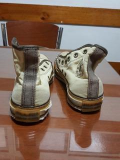 Zapatillas Converse All Star Botitas 4/6 Usa Y 36.5 Argent