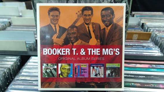 Cd Box - Booker T. & The Mg