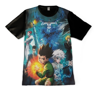 Camisas De Animes Hunter X Hunter - Killua Gon Hisoka - Full