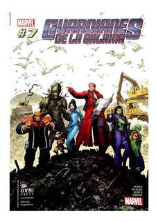 Guardianes De La Galaxia #7 - Ed. Ovni Press - Bendis