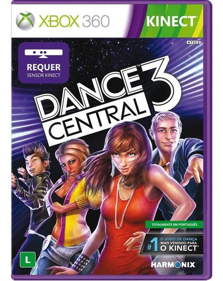Dance Central 3 Mídia Física. Lacrado 100%português,original