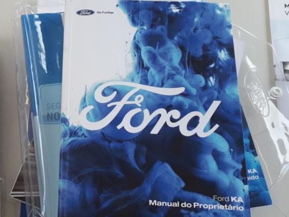 Manual Proprietario Novo Ford Ka 2018 2019 Em Branco
