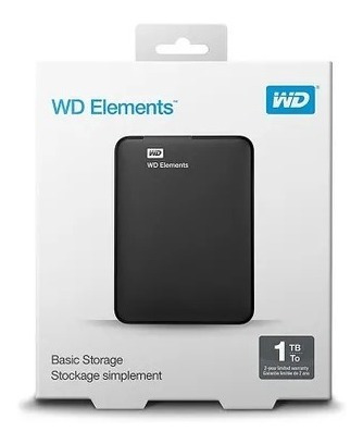 Hd Externo 1tb Purple Wdbuzg0010bkk Western Digital