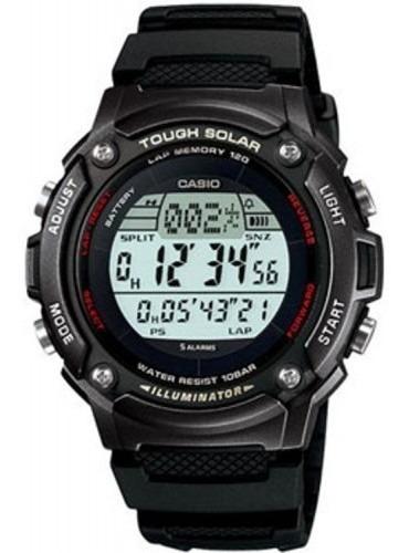 Reloj Casio Alarma Crono Luz Touch Solar Modelo W-s200h-1bv