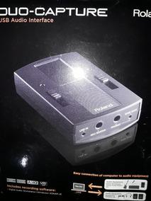 Interface Roland Duo-capture Audio Usb