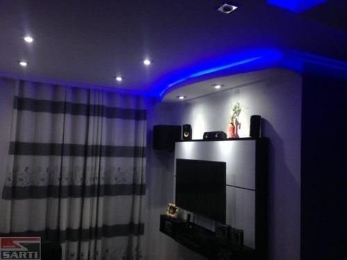 Imagem 1 de 15 de Lindo Apartamento - Todo Decorado - Super Moderno - St13486