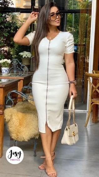 Lindo Vestido Tubinho Moda Evangelica Elegante Cod#bll++