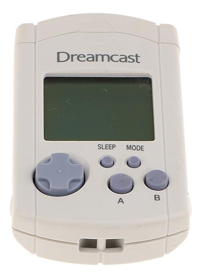 Para Sega Dreamcast Branco Visual Lcd Memória Unit Cartão Vm