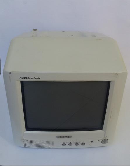 Tv Semp Toshiba 10 Polegadas 12v 24v /110v 220v Entrada Dvd