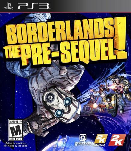 Borderlands Pre Sequel - Ps3 Fisico Nuevo & Sellado