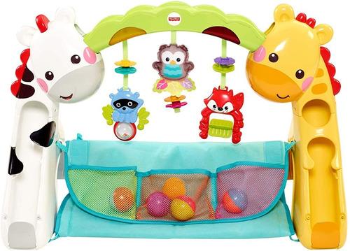 Imagen 1 de 10 de Fisher-price, Gimnasio Etapas Crece Conmigo Bebe Ccb70