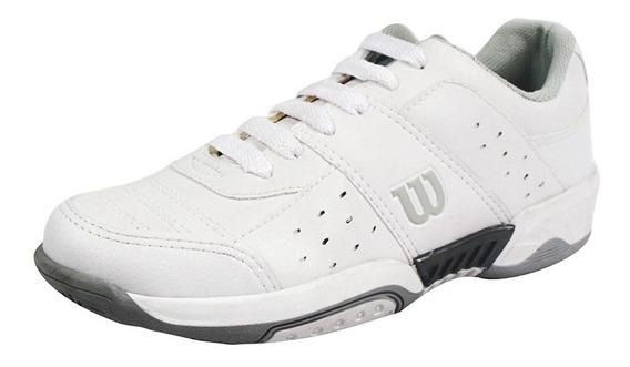 Tenis Hombre Caballero Wilson Deportivos Blanco Cómodos