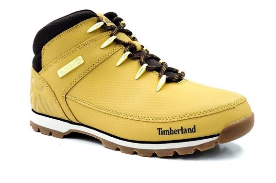Timberland Euro Sprint Mid Hiker Piel Tectuff Tb0a21d6231