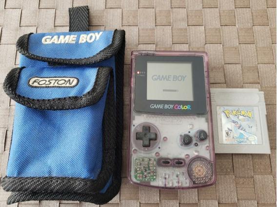 Console Game Boy Color Gbc + Pokemon Silver Original + Case