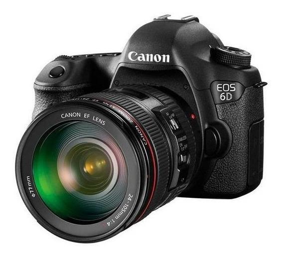 Câmera Digital Canon Eos 6d 20.2mp 24-105mm 3.0