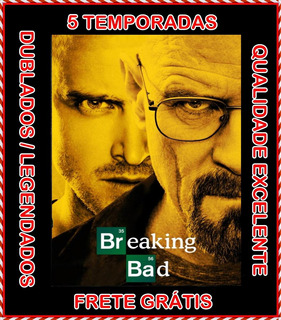 Serie Breaking Bad 1ª Até 5ª Temporada Completa Frete Grátis