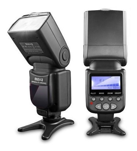 Flash Manual Meike Mk930ii Para Câmeras Canon- Nikon- Sony