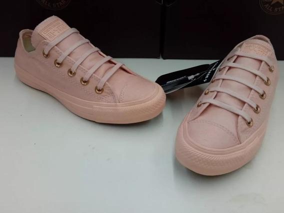 Zapatillas Converse Caña Baja Rosas