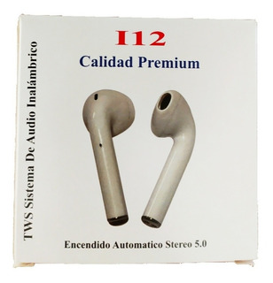 Auricular Bluetooth Inalambrico I7s Tws Base Recargable