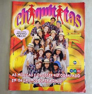 Album De Figurinhas Chiquititas Falta 10 Fig Com O Poster