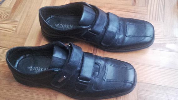 Zapatos De Vestir Storkman Aron Negros Talle 44
