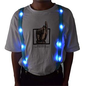 3bf671a3b Led Glow Luz Up Tirantes Tirantes Para Pantalones Forma De Y