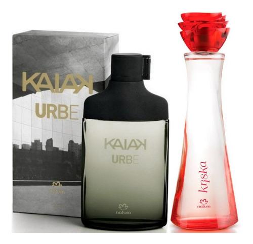 Perfume Kaiak Urbe + Kriska Mujer Natur - mL a $598